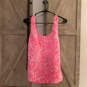 Lilly Pulitzer Scoop Neck Tank Top